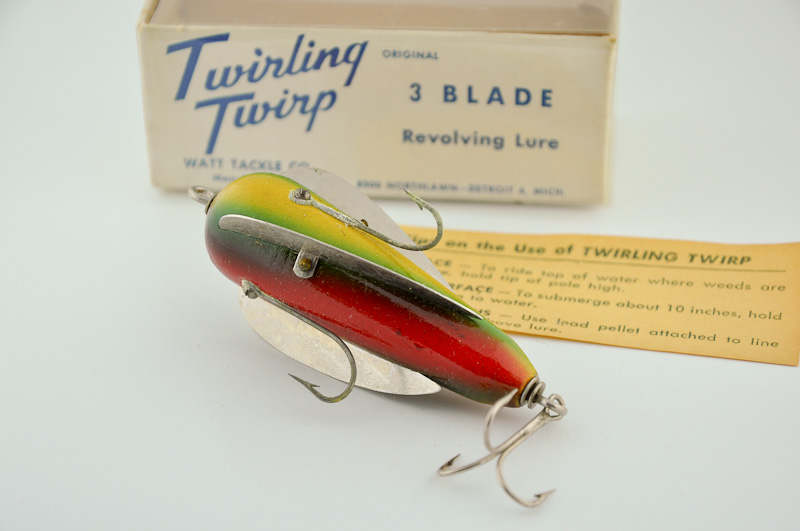 Watt Tackle Twirling Twirp Lure