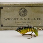 Wright Mcgill Flapper Crab Antique Lure