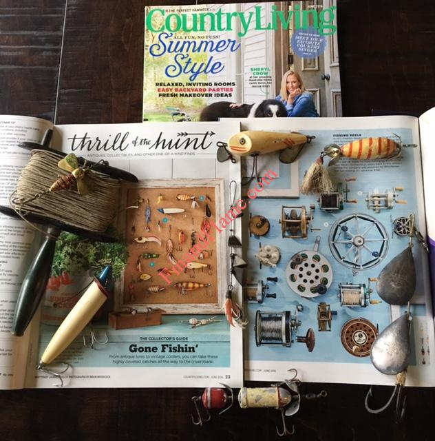 Country Living Magazine Antique Lure