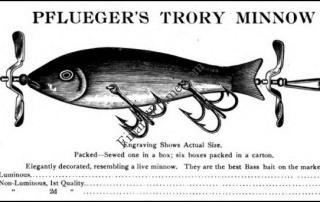 Pflueger Trory Minnow Lure