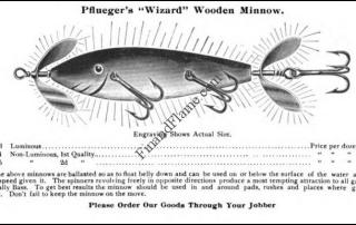 Pflueger Wizard Lure Ad 1904