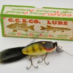 Creek Chub Dinger Lure in Perch Scale