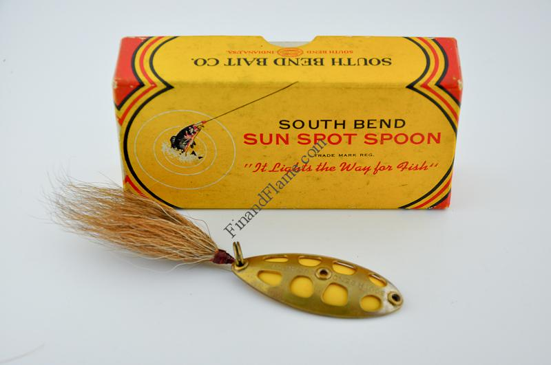 South Bend Sun Spot Spoon Lure