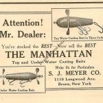 Meyer Manhattan Lure Ad 1922