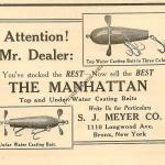 Meyer Manhattan Lure Ad 1922