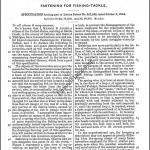 Mason B Allen Lure Patent