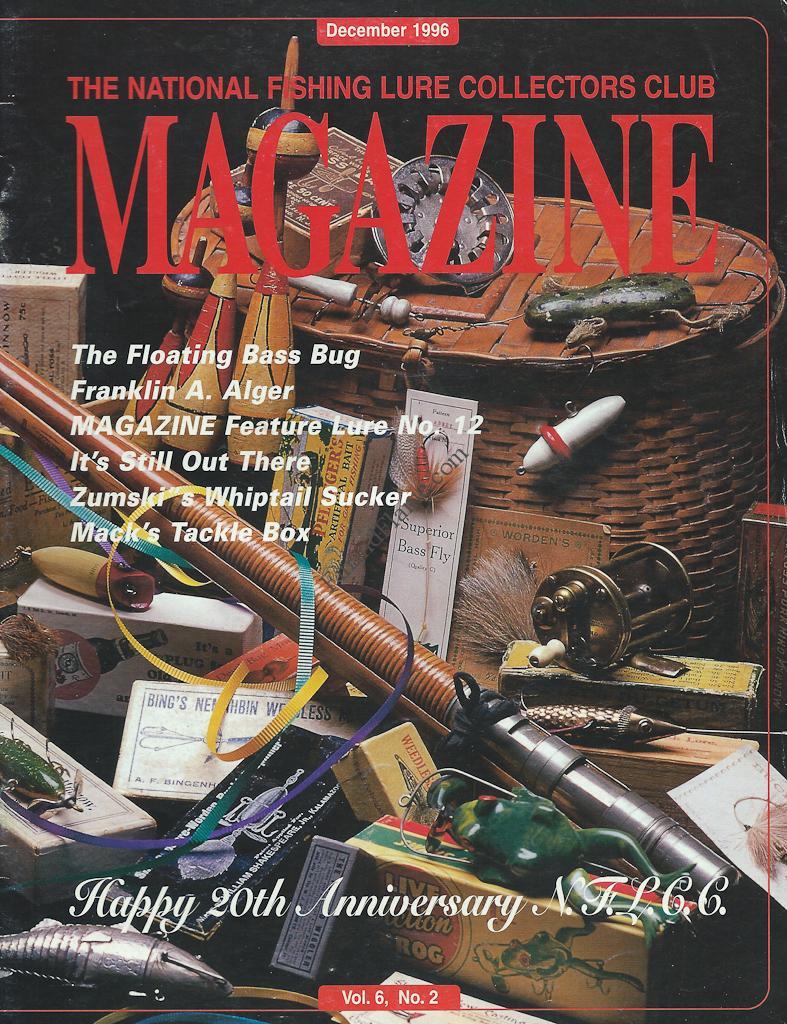 NFLCC Magazine Article Index 1996 Vol 6 No 2