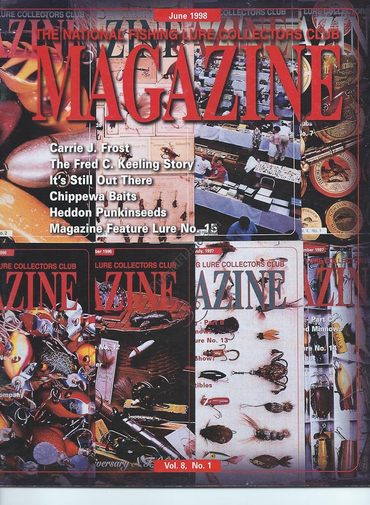 NFLCC Magazine Article Index 1998 Vol 8 No 1