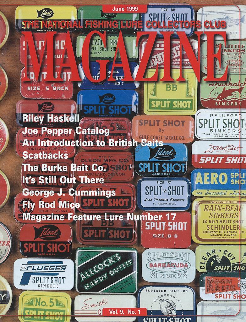 NFLCC Magazine Article Index 1999 Vol 9 No 1