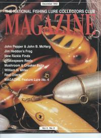 NFLCC Magazine Article Index 1992 Vol 2 Issue 2