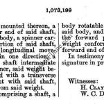 Clinton Wilt Little Wonder Patent Specs