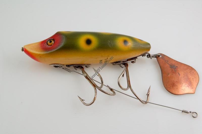 Heddon Flap Tail Junior Lure Frogspot