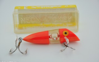 Neon Mickey Antique Lure