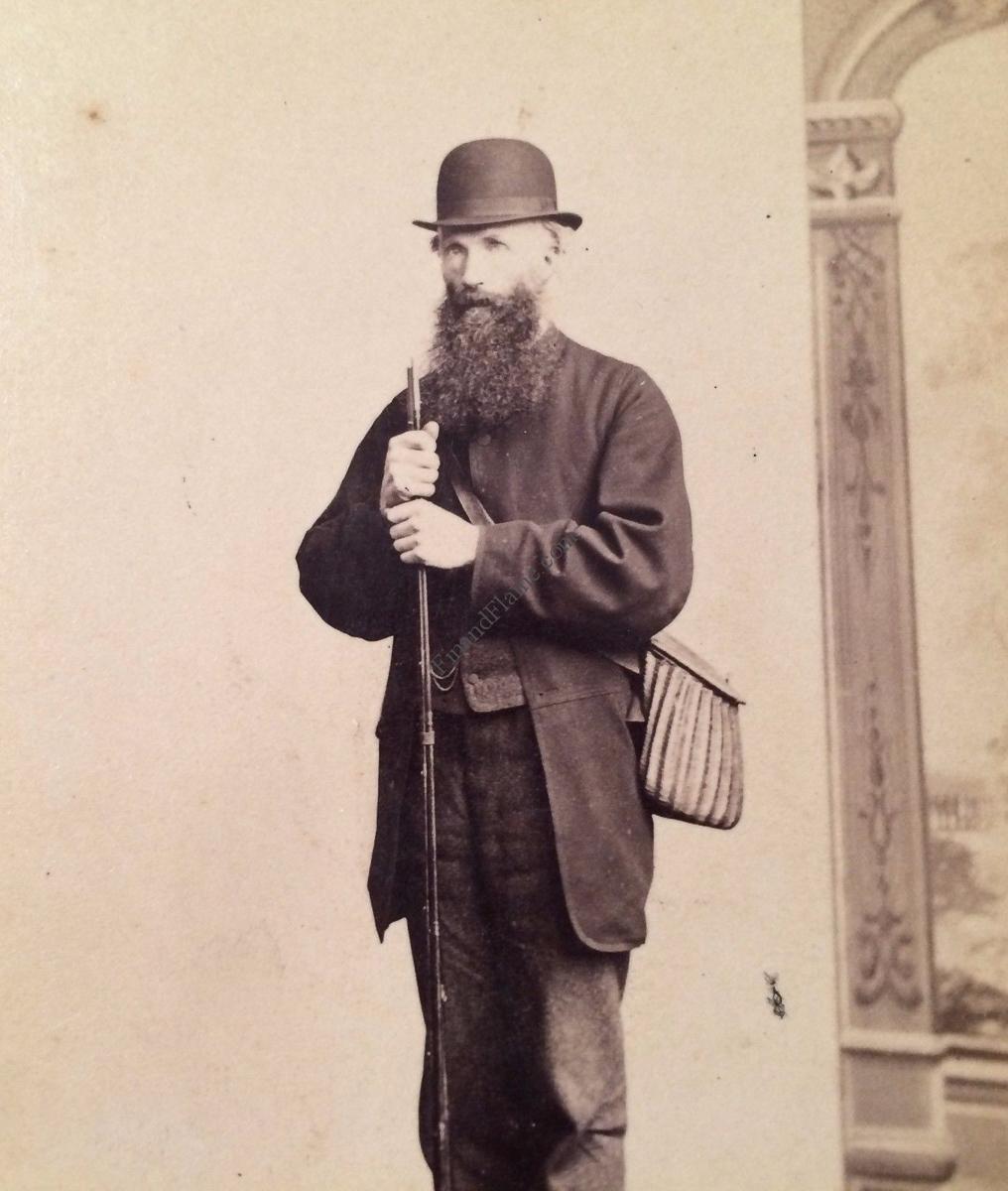 Antique Fishing Photo