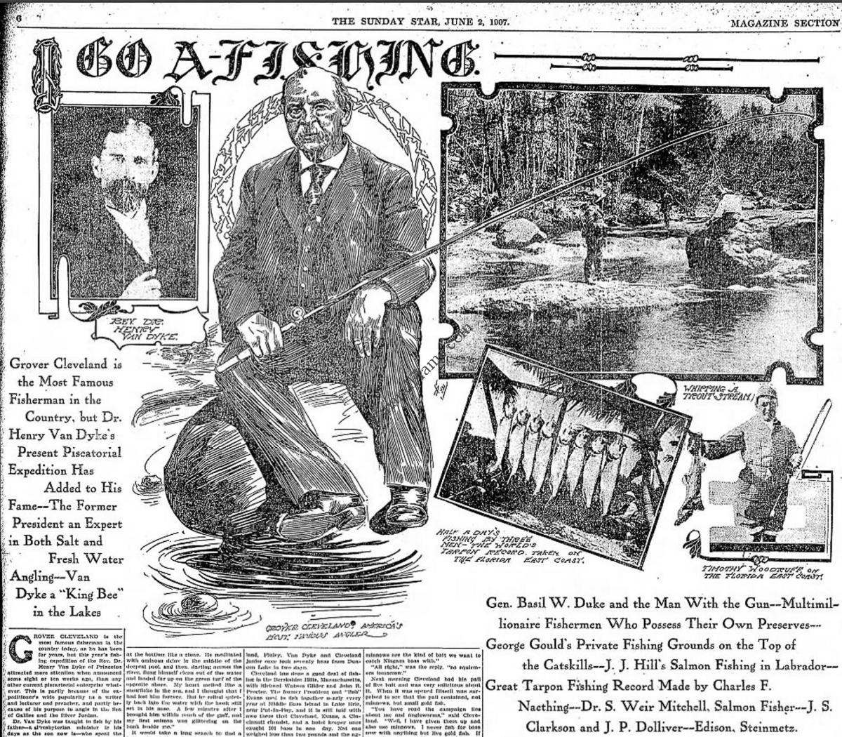 Grover Cleveland Fisherman President