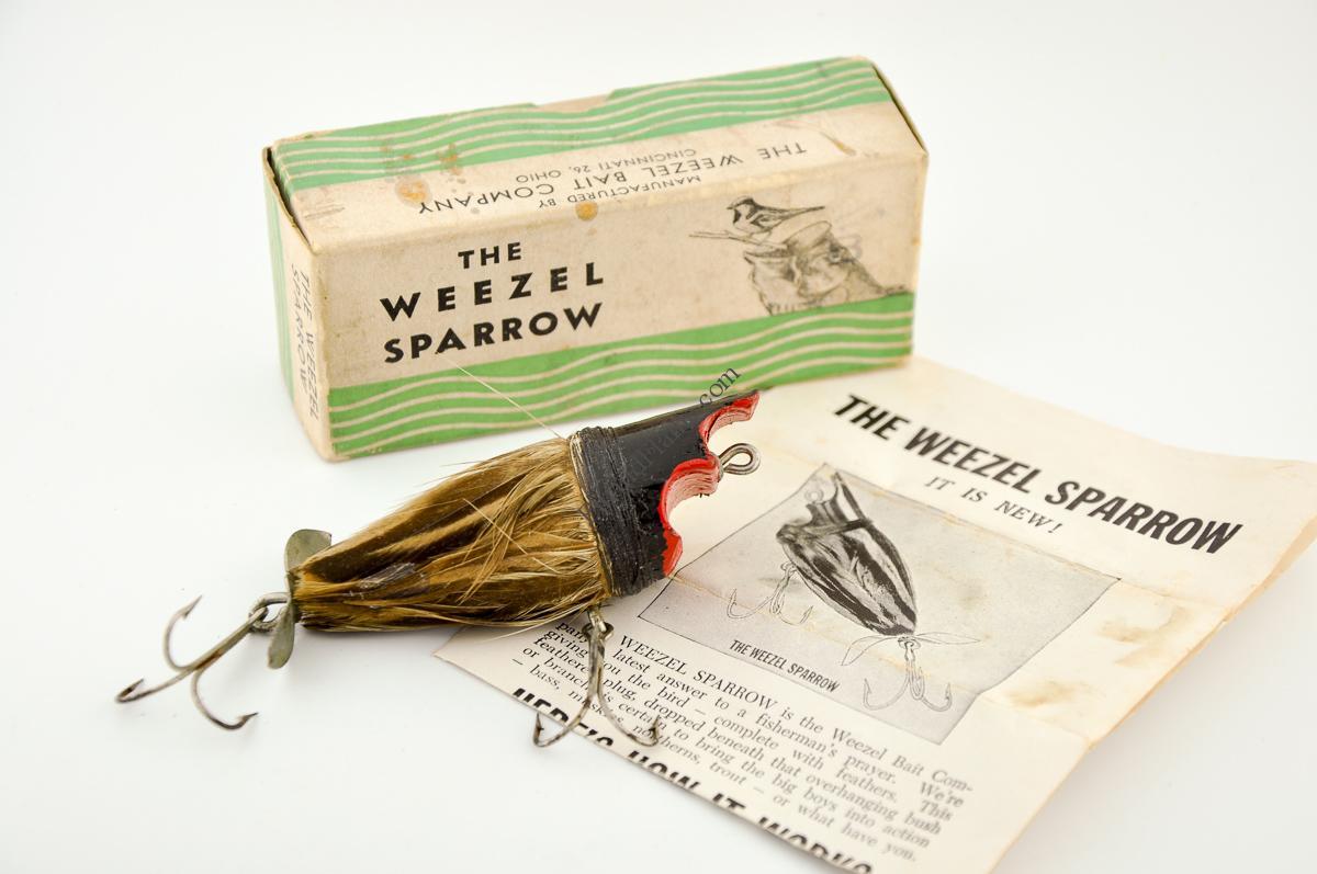 Weezle Sparrow Antique Lure