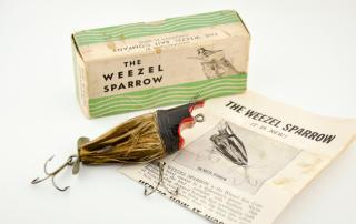 Weezle Sparrow Antique Lure