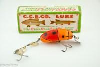 Orange Beetle Creek Chub Lure