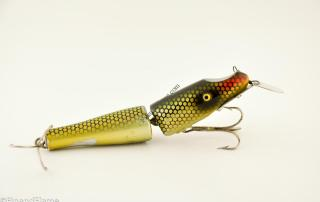 Best Of Luck Jointed PIkie Antique Lure