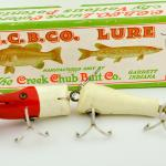 Red & White Creek Chub Jointed Snook Pikie Lure
