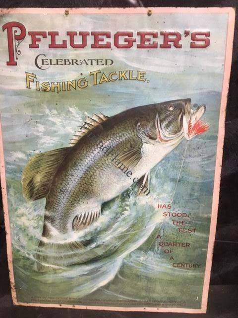 Pflueger Antique Sign