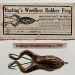 Jamison Hastings Weedless Frog Lure