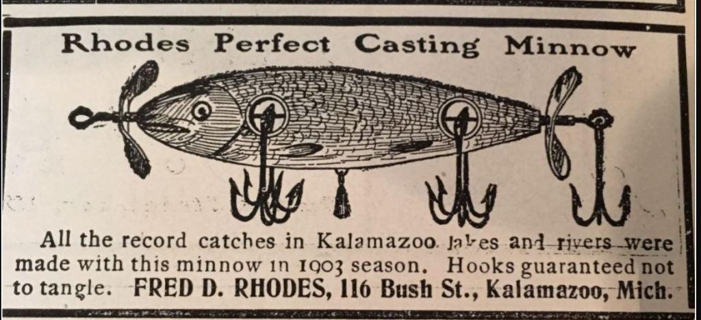 Rhodes Perfect Casting Minnow Ad