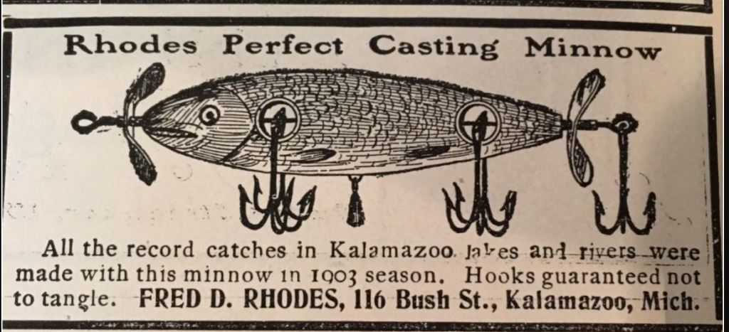 Rhodes Perfect Casting Minnow Ad