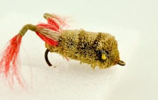 Messinger Brown Leg Frog Fly