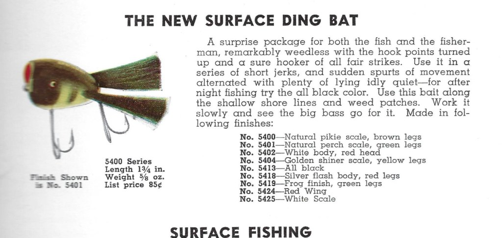 Surface Ding Bat Catalog Page 1941