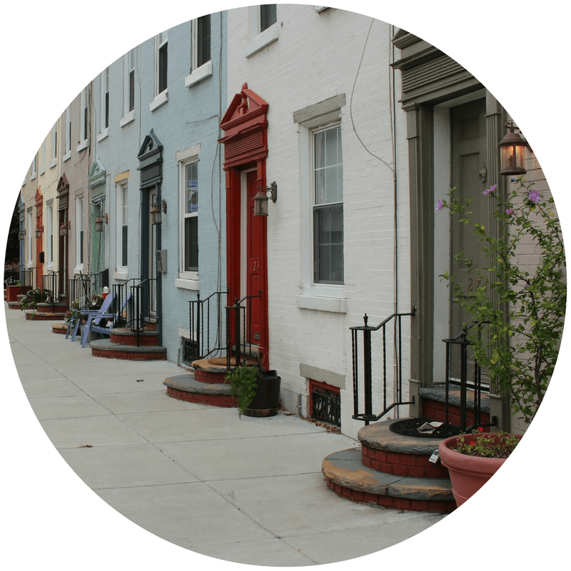 Philadelphia houses for Project Reinvest Page