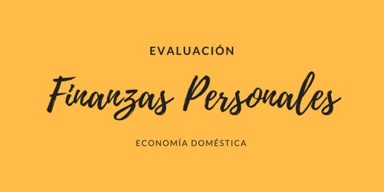 Evaluación financiera personal