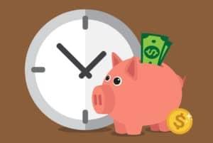Ser millonario toma tiempo