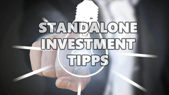 5 ultimative Standalone Investmenttipps bei einem Wertpapier