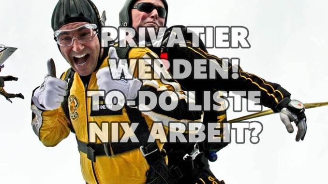 Privatie werden so gehts