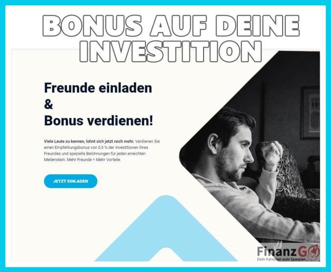 Bonus für Immobilieninvestoren bei Estateguru 0,5%