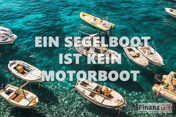 Segelboot Kauf Ist der Sportbootführerschein und der Segelschein gleich mit dem Motorboot
