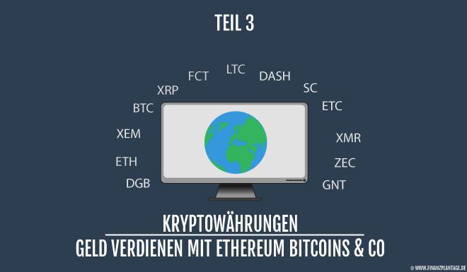 Kryptowährungen, Lending, Trading