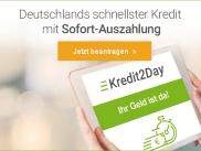 ❱❱ Kredit2Day: super günstig | sofort ausgezahlt immer frische Kredite. Auch der Kreddit minus 5 Prozent war hier im Angebot.