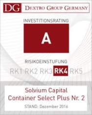 DEXTRO Rating Siegel - Container Select Plus Nr 2 (2)
