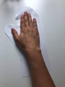 Handschuh aus Stoffresten_1