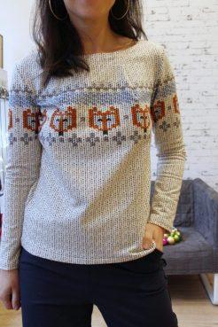 JustMe Norweger Damen Pullover_3