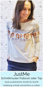 JustMe Norweger Damen Pullover_2