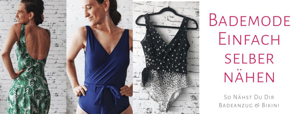 Badeanzug und Bikini selber nähen