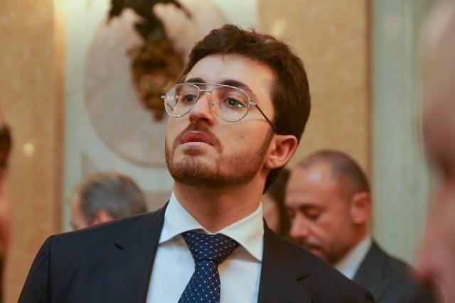 Сын Давида Якобашвили Михаил