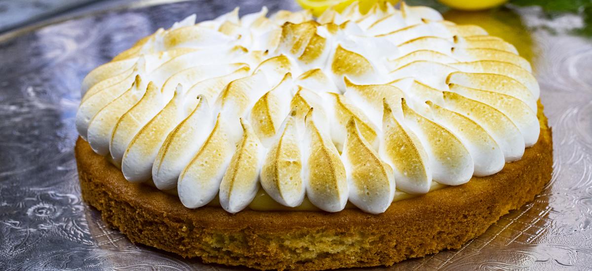 tarta de limón de Isabel Maestre Catering