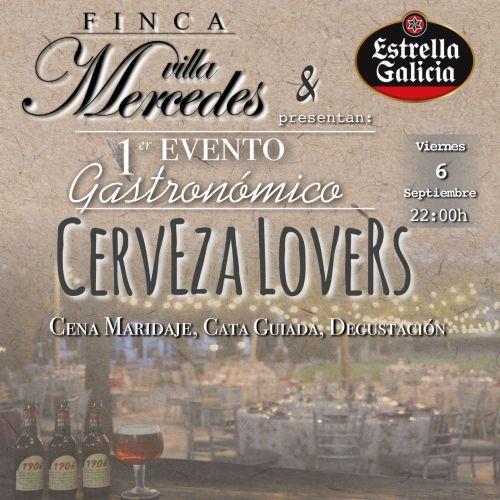 evento gastronómico cerveza lovers finca Villamercedes