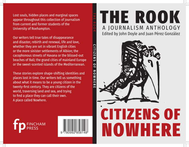 The Rook: front and back covers