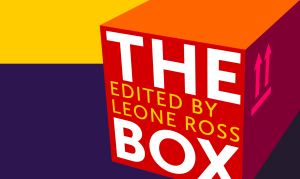 The Box: A Creative Writing Anthology, book cover (detail)