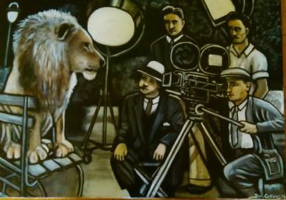 Hollywood Lion